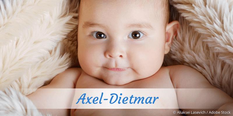 Name Axel-Dietmar als Bild