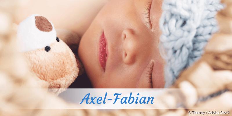 Name Axel-Fabian als Bild