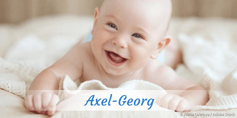 Name Axel-Georg als Bild