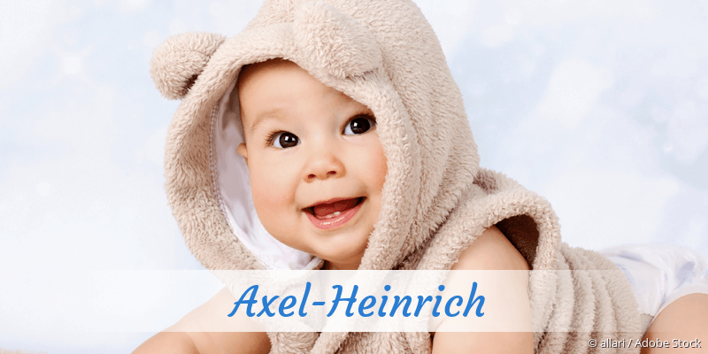 Name Axel-Heinrich als Bild