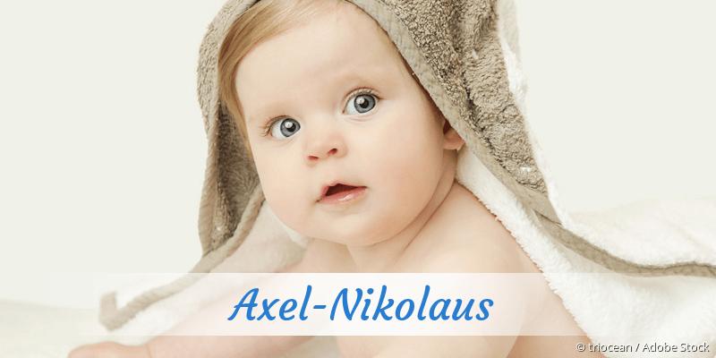 Name Axel-Nikolaus als Bild
