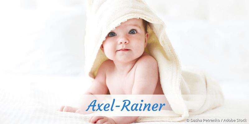 Name Axel-Rainer als Bild