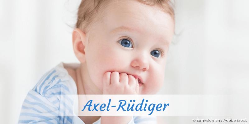 Name Axel-Rüdiger als Bild