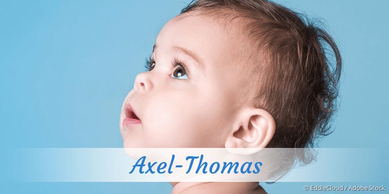 Name Axel-Thomas als Bild