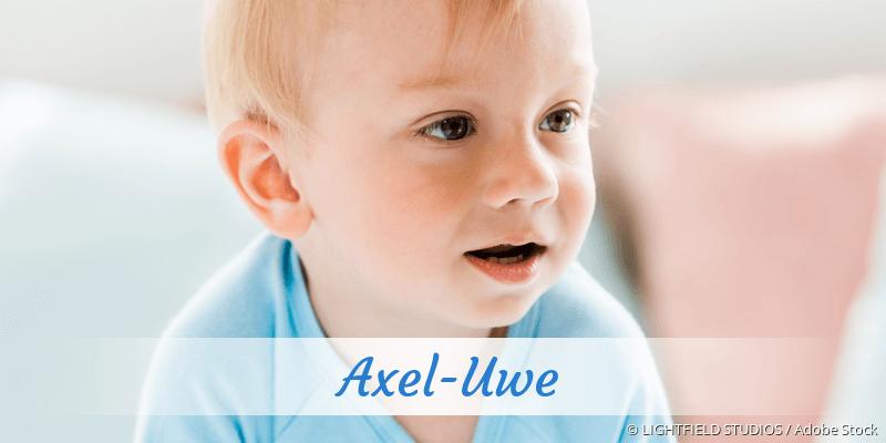 Name Axel-Uwe als Bild