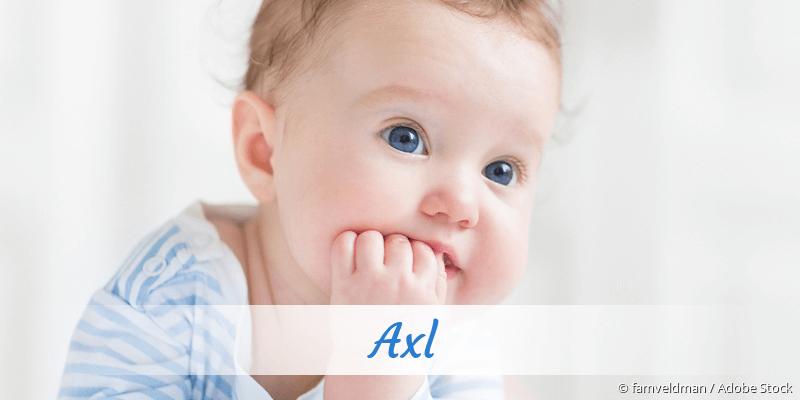 Name Axl als Bild