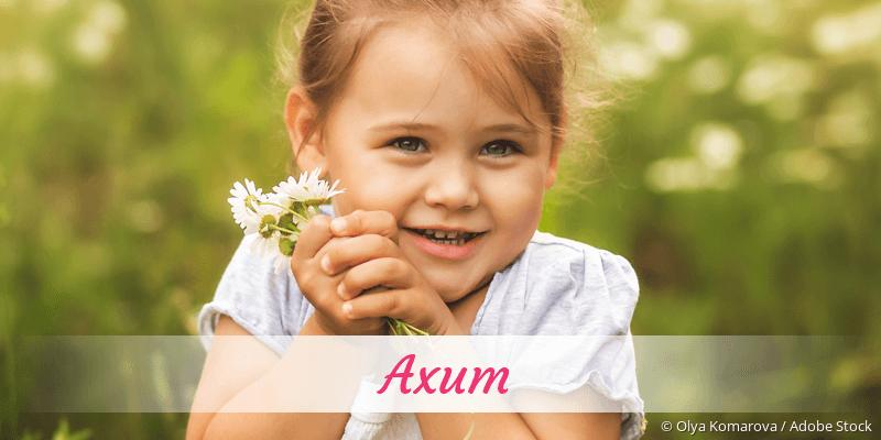 Name Axum als Bild