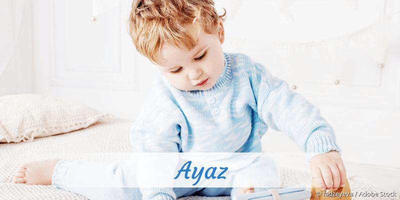 Name Ayaz als Bild