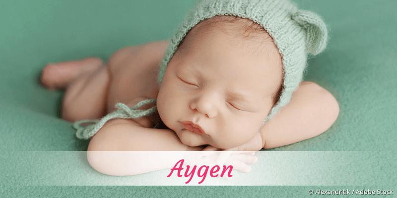 Name Aygen als Bild