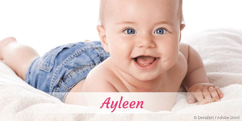 Name Ayleen als Bild