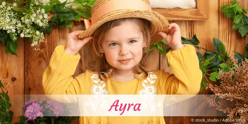 Name Ayra als Bild