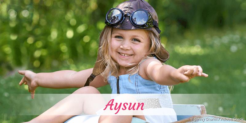 Name Aysun als Bild
