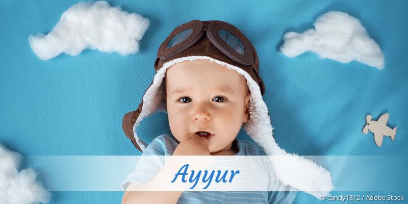 Name Ayyur als Bild