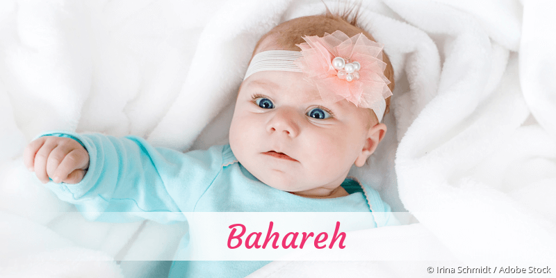 Name Bahareh als Bild