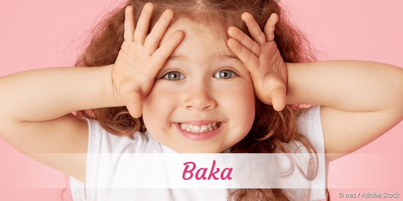 Name Baka als Bild