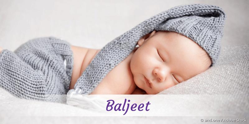 Name Baljeet als Bild