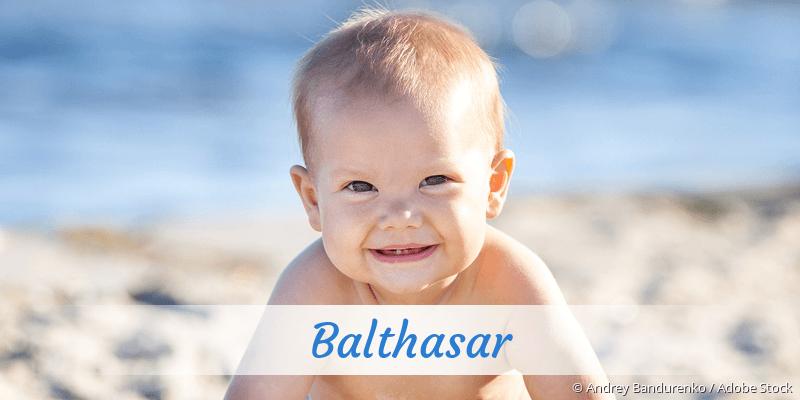 Name Balthasar als Bild