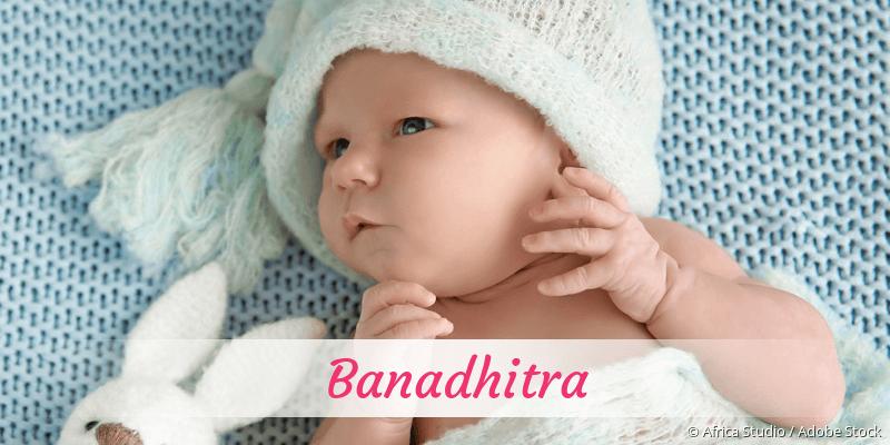 Name Banadhitra als Bild
