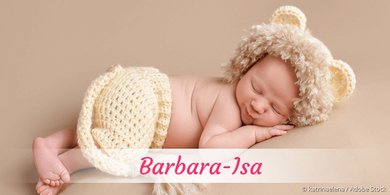 Name Barbara-Isa als Bild