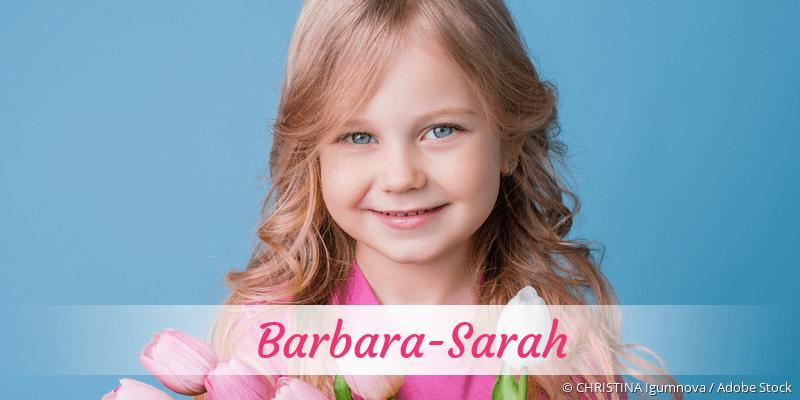 Name Barbara-Sarah als Bild