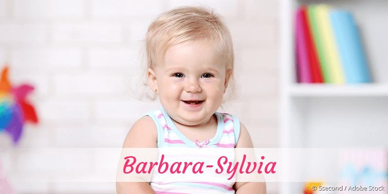 Name Barbara-Sylvia als Bild