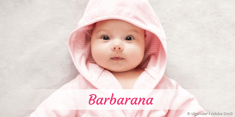 Name Barbarana als Bild
