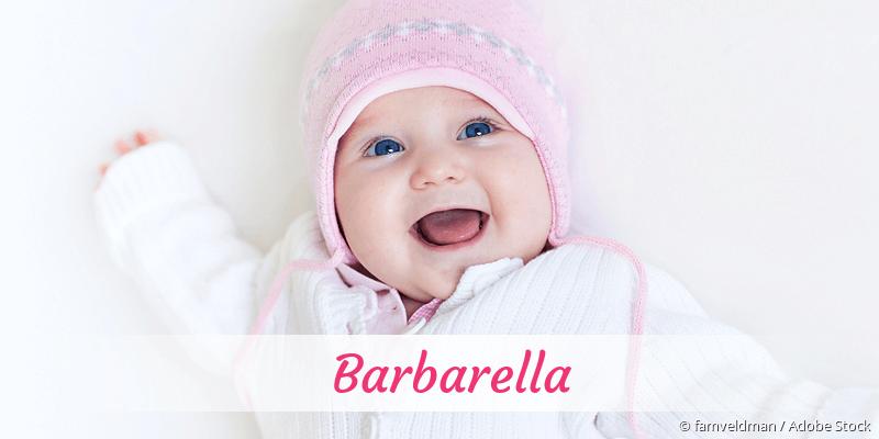 Name Barbarella als Bild