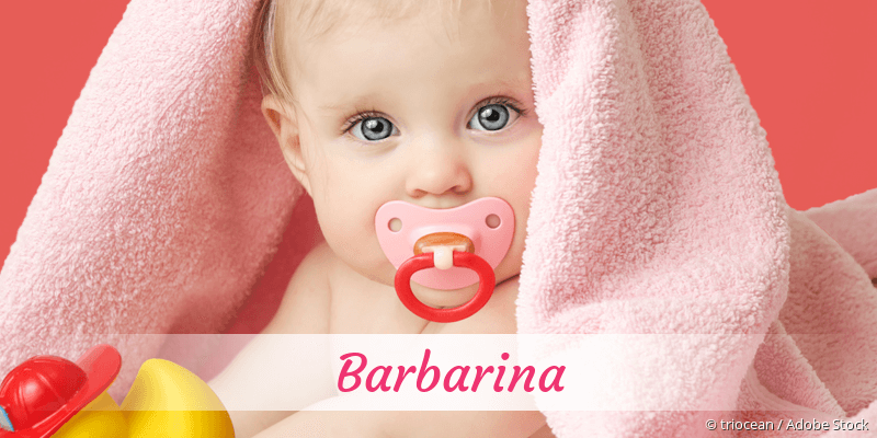 Name Barbarina als Bild