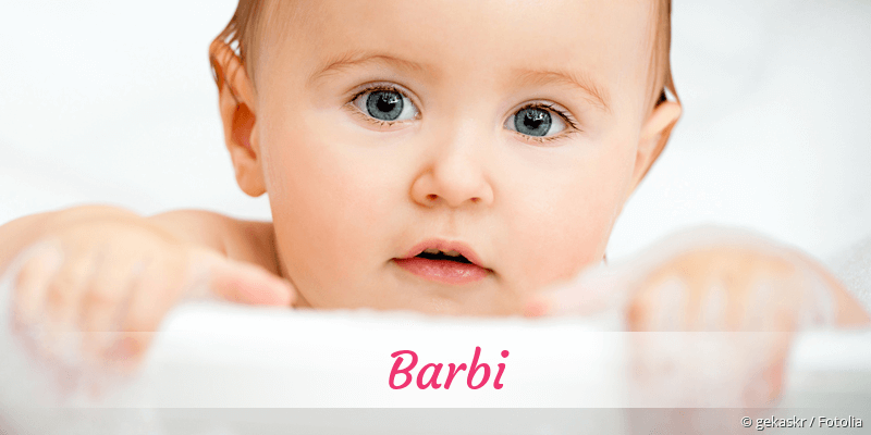 Name Barbi als Bild