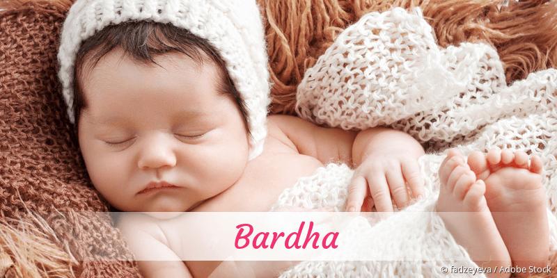 Name Bardha als Bild