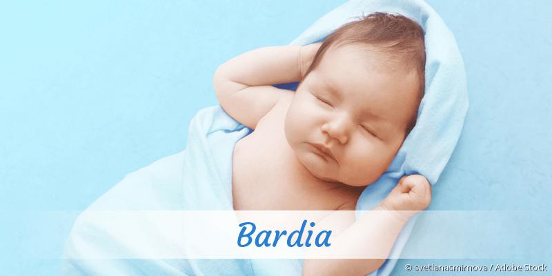 Name Bardia als Bild