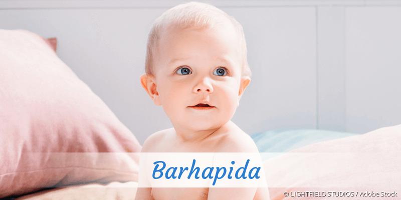 Name Barhapida als Bild