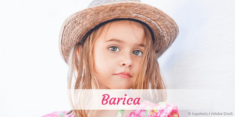 Name Barica als Bild