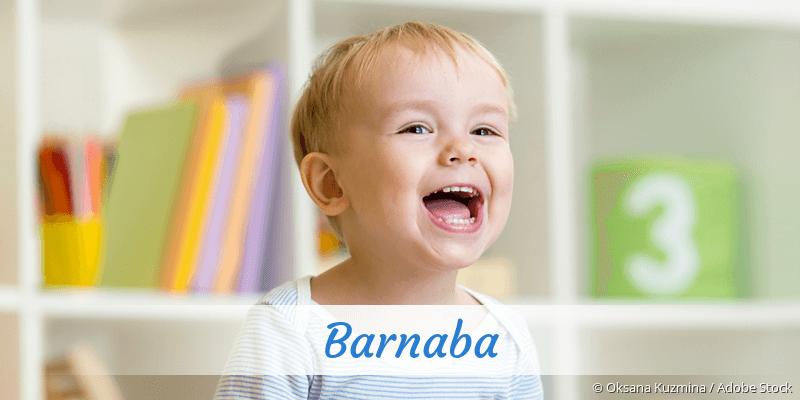 Name Barnaba als Bild