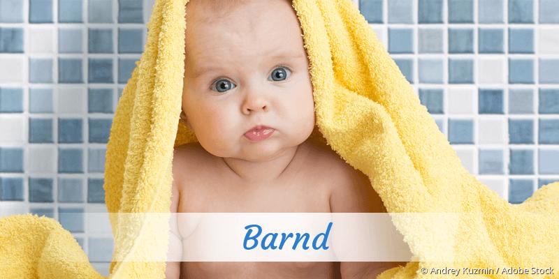 Name Barnd als Bild