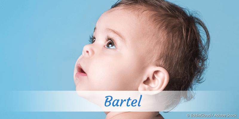 Name Bartel als Bild