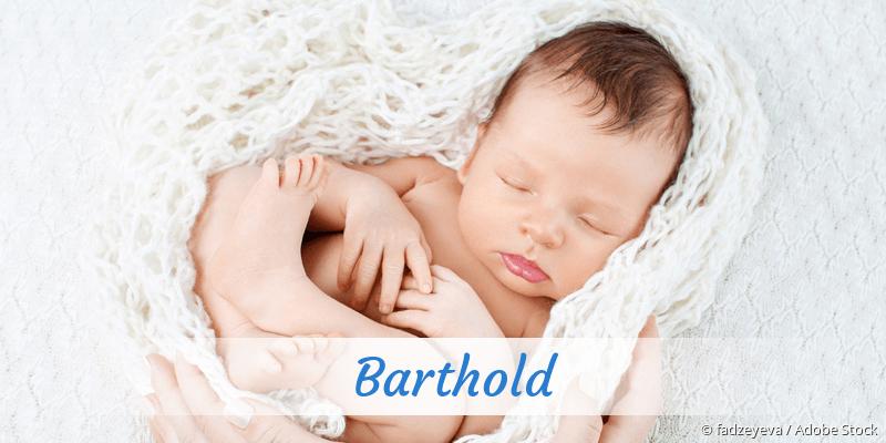 Name Barthold als Bild
