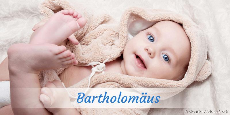 Name Bartholomäus als Bild