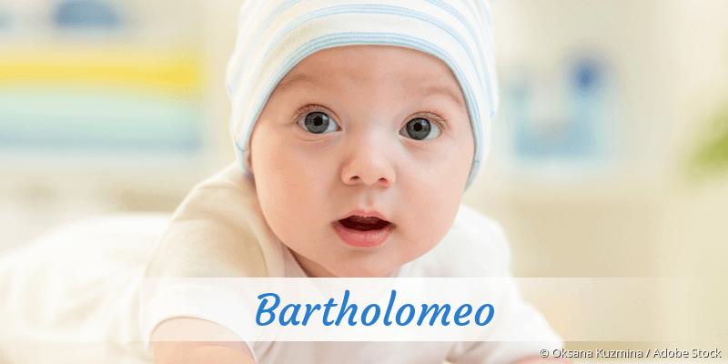 Name Bartholomeo als Bild