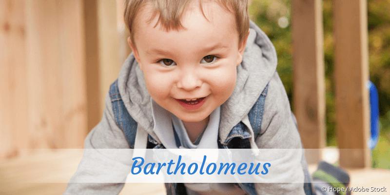 Name Bartholomeus als Bild