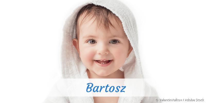 Name Bartosz als Bild