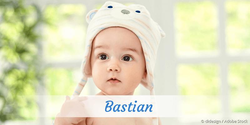 Name Bastian als Bild