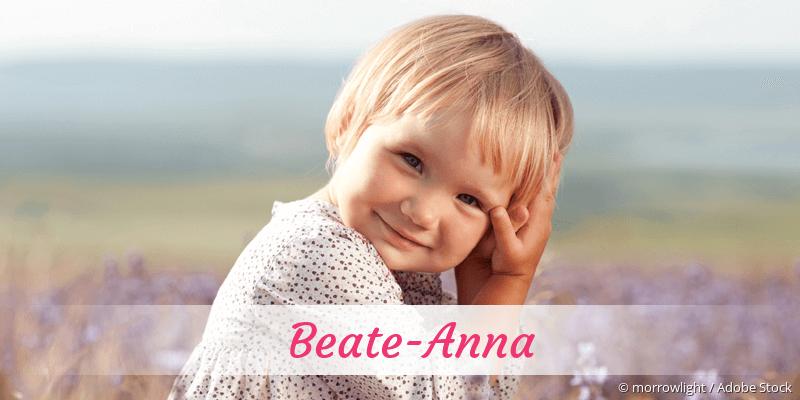 Name Beate-Anna als Bild