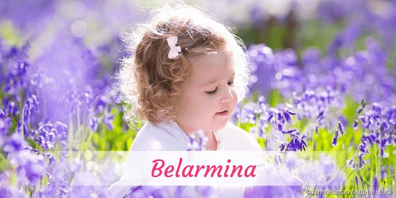 Name Belarmina als Bild