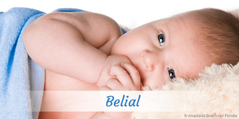 Name Belial als Bild