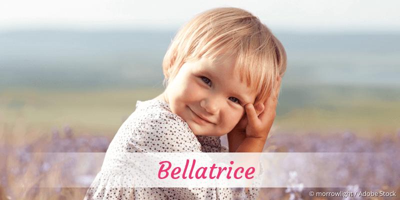 Name Bellatrice als Bild