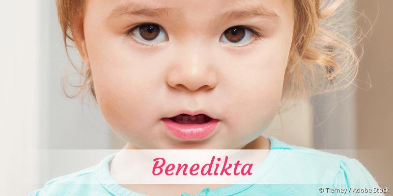 Name Benedikta als Bild