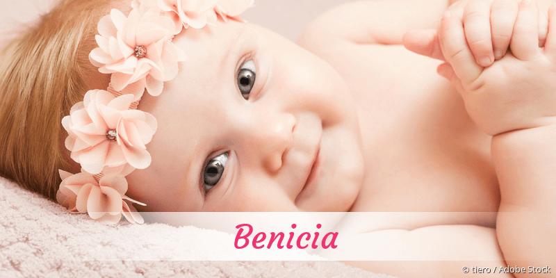 Name Benicia als Bild