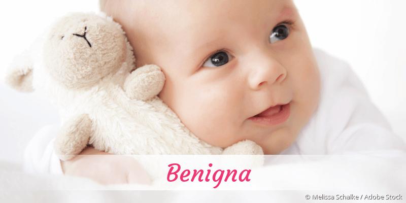 Name Benigna als Bild