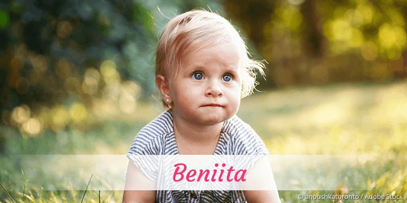 Name Beniita als Bild